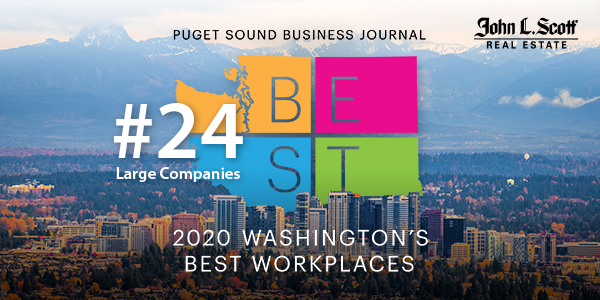 John L. Scott is named one of Washington's Best Workplaces!